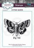 CE Rubber Stamp by Andy Skinner - Gypsie Queen - CEASRS001